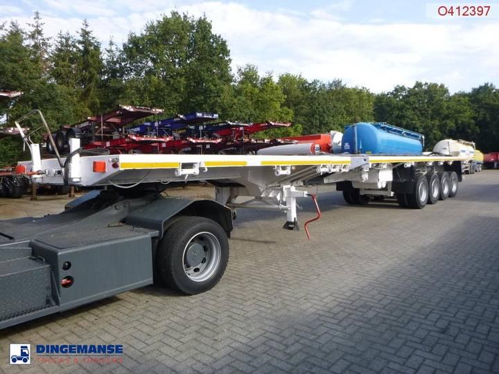 Traylona  Platform trailer extendable 84 t / 55.5 m - 2008