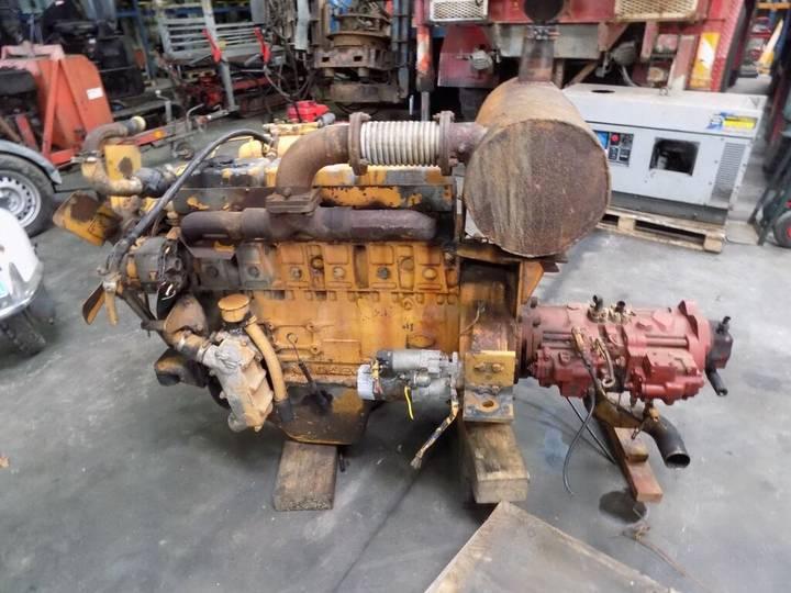 Daewoo 6 cill. kraan motor met pompen engine for excavator