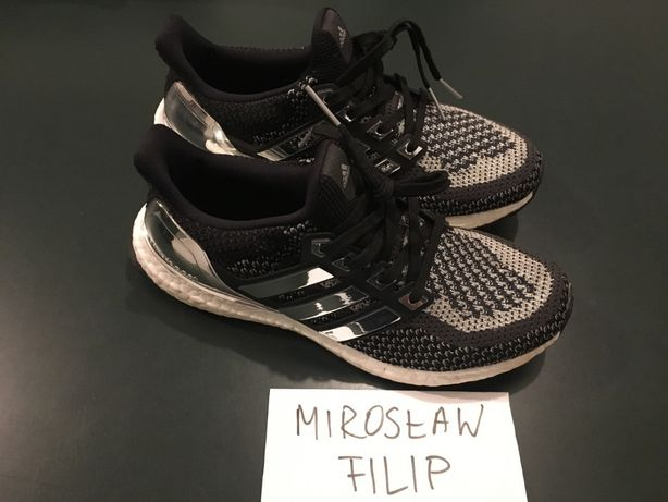 wholesale dealer 3957a 2459b Adidas Ultra Boost 2.0 Silver Medal + Boosted Stripes US 7 EUR 40 Kraków -  image