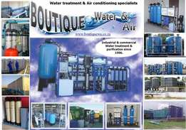 Borehole, well-point and surface water treatment