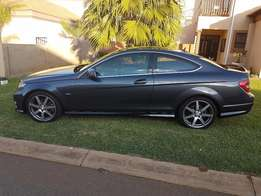 2012 Mercedes-Benz C-Class C180 BE Coupe A/T