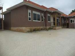 A new two bedroom house for rent in kyanja