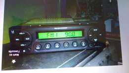 Great car radio with all stations and flash