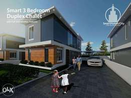 Smart 3 Bedroom Duplex Chalet Units At Smarthomes City:N8.9m(Promo)