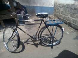New and second bicycles