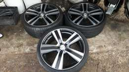18inch rim and tyres for sale