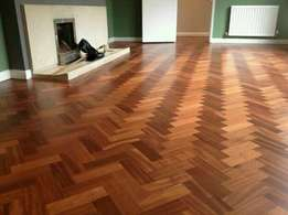 Wooden flooring installations