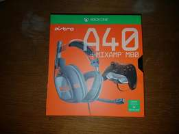 Astro A40 gaming headset for xbox one