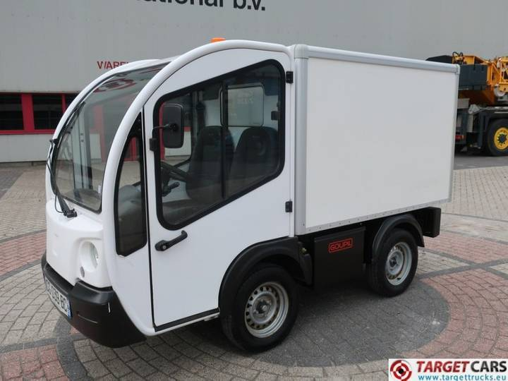 Goupil G3 Electric Closed Box Van UTV Utility Vehicle - 2012