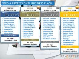 Need a Professional Business Plan?