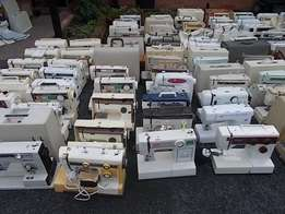10 used electric sewing machines