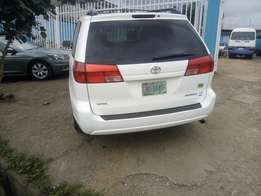 Toyota sienna locally used 2004model for sale