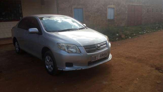 Toyota axio 2007 model, silver colour, accident free, low mileage Sagana - image 4