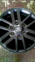 """Fortuner and Hillux magrims 17""""inch good as new set of four for sale."""
