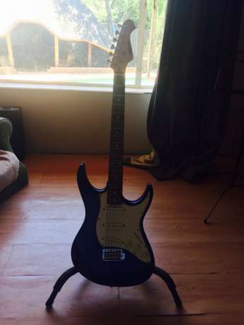 Aria STG - series midnight blue electric guitar Proteapark - image 3