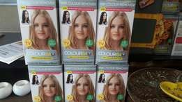 B4 hair colour remover. 100 boxes available. Price is R50 of you take