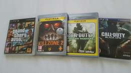PS3 games for sale (negotiable)