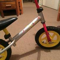 Children's training / play bike for 3 - 5 year olds, in good condition