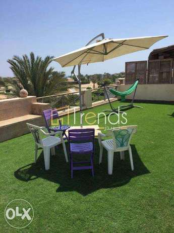 200m Fully Furnished Chalet + Roof in Jaz Little Venice - Ain Sokhna