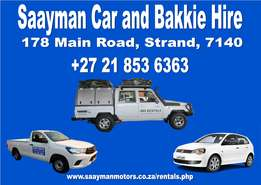 Rentals of Cars,LDV's,Kombi's,Trailers and 4x4 vehicles