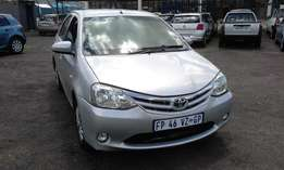Toyota Etios 1.5 XS Colour Silver 5Door Model 2013 Factory A/C&CD Play