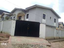2 wings duplex at Okeafa ajigbo Lagos