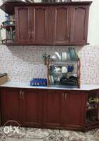 Double Kitchen Cabinet (with double doors)