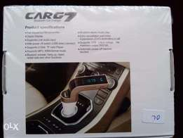 Bluetooth Car FM ,hands free Mobile phone, charger