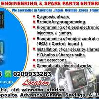 Yehowa nhyira Eng and spare parts ent.