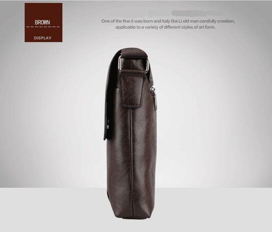 JEEP мужская кожаная сумка через на плечо. Чоловіча сумка Polo Поло Львів -  зображення 7 39550325e6522