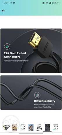 UGREEN Micro HDMI to HDMI Cable Adapter 4K 60Hz Ethernet Audio Return