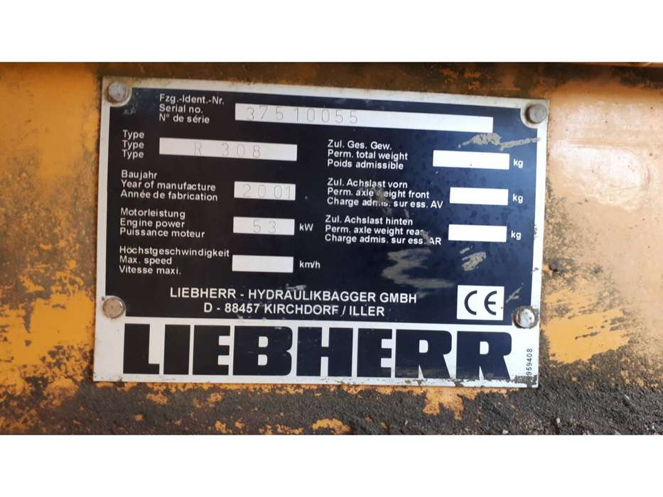 Liebherr R308 - 2001 - image 20