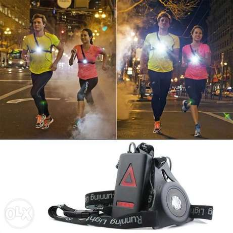 Running Safety Lights USB Rechargeable Chest Light