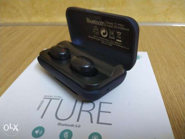 Ture earbuds T1pro bluetooth الرياض -  7