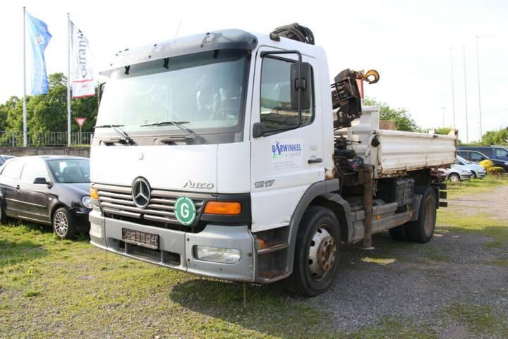 Mercedes-Benz Atego 1217 Dreiseitenkipper u002F Kran Hiab 071 - 2000