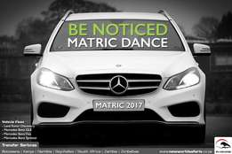 CHAUFFEUR HIRE for MATRIC DANCE, Weddings and other special events