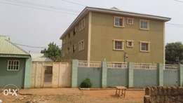 A commercial 3bedrooms 6blocks of flat.at Benin-City.