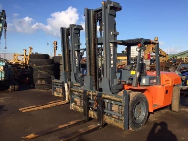 Heli ** 10 Tons Diesel Forklift ** - 2014