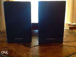 High End Speakers : 2 x Mordaunt shorts