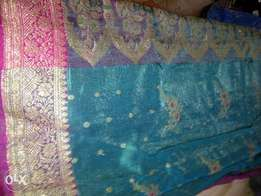 Brand New Barnaras Sari For Sale