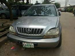 Registered Lexus rx300 for sale