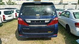 Toyota Alphard 2010 model. KCP number Loaded with Alloy rims, good m