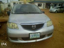 A clean registered Mazda MPV for sale, 2003