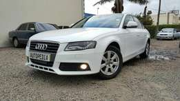 Audi A4, Pearl White , Year 2009,1800cc TFSi, Turbo Automatic