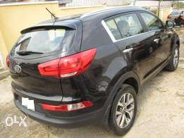 registered 2015 model Kia sportage