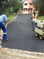 Tar driveways and paving