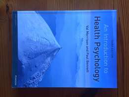 Introduction to Health Psychology Third Edition Text Book