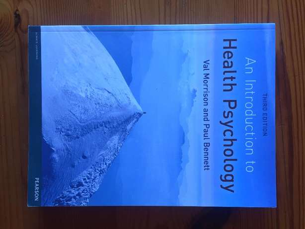Introduction to Health Psychology Third Edition Text Book Parklands - image 1