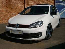 vw golf 6 gti 2.0 tsi man 6 speed 155kw