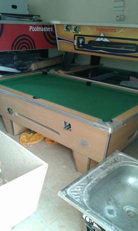 A brand new wooden top pool table Pangani - image 4